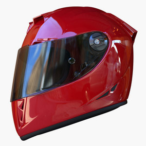 3d model motorcycle helmet airoh