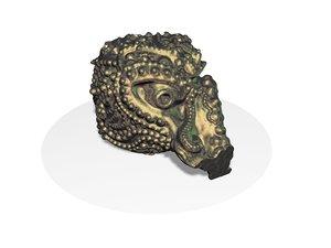 3D model artifact