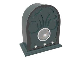 clock vintage 3D model
