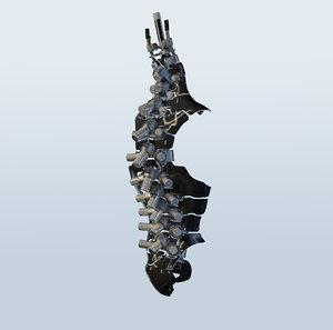 3D spine mechanical 01