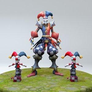 league legends 3D model