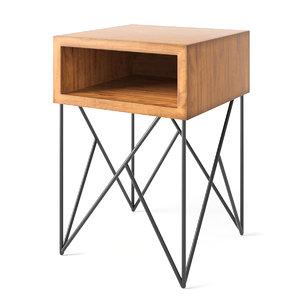 dixon table 3d model