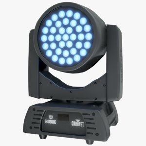 led digital spot chauvet 3D model