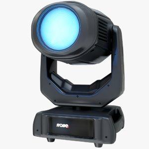 3D digital spot light robin model