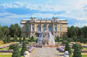 palace gardens hd 3D model