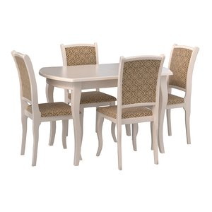 table alicante chairs 3D