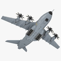 Airbus A400M Atlas Military Transport Aircraft Rigged