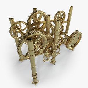 3D gear mechanism
