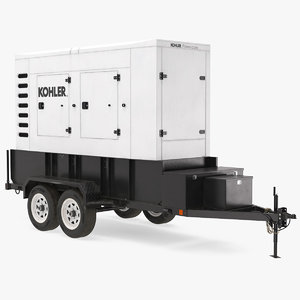 kohler big mobile generator 3D model