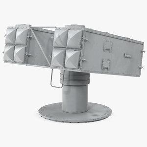 mk 29 missile launching 3D model