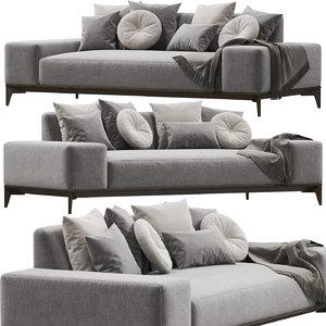 sofa desiree overplan 3D model