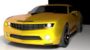 chevrolet camaro 2009 3D