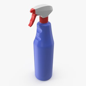spray detergent bottle 3D model