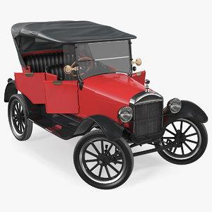 vintage 20s car generic model