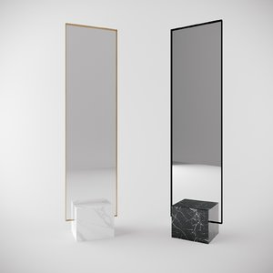 mirror marble model