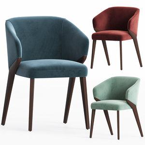 bross nora chair 3D