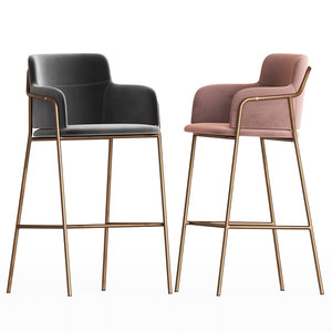 3D cult living harriet bar stool
