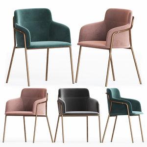 cult living harriet dining chair 3D model