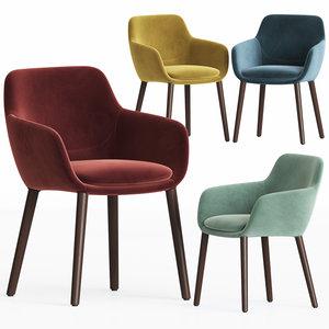tyson dining chair 3D model