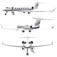 Airplane Golfstream 650