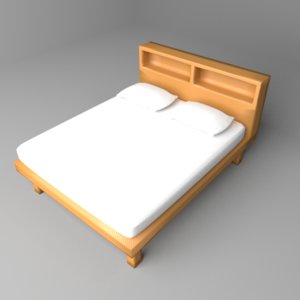 cabinet bed 3D
