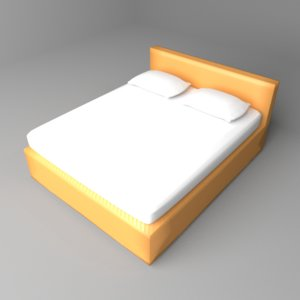 3D divan bed