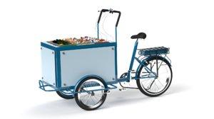 3D model retail bin bike