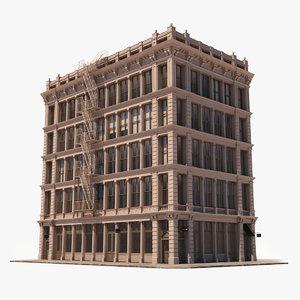 soho facade 11 3D model