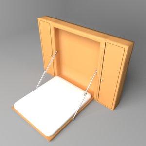 murphy bed 3D
