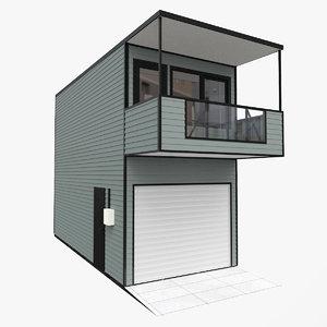 station elling modul 2 3D model