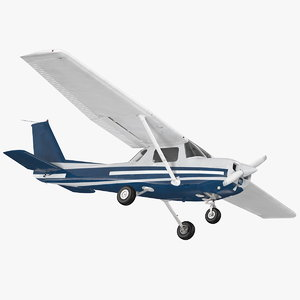 3D multipurpose civil aircraft generic model