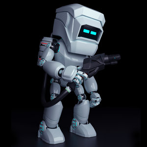 robot repair 3D