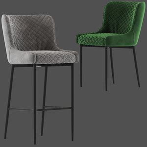 innova australia danya stool chair 3D model