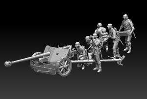 german artillery 3D model