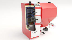 3D boiler furnace