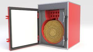 boiler furnace oil 3D model