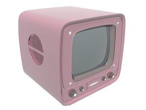 3D television vintage model