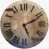 Clock 02 Rustic