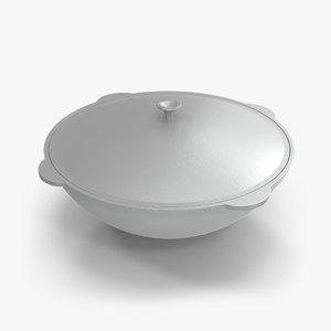 cauldron v-ray model