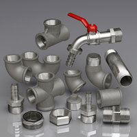 Metal water pipe collection