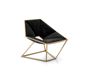 3D hexa armchair antonio pio model