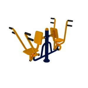 3D model exercise outdoorgym