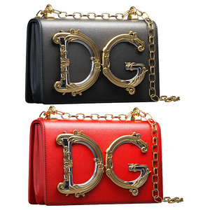 3D dg girls mini bag