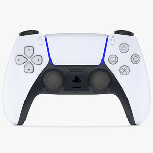 3D ps5 dualsense controller