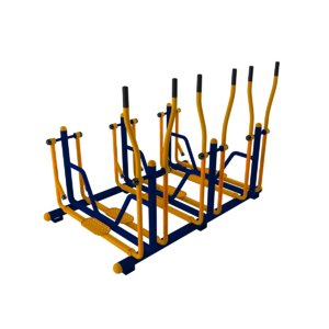3D exercise outdoorgym