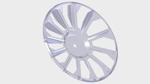 3D fan cooling