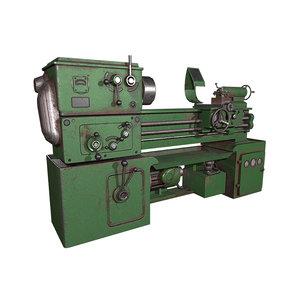 machine metal 3D model