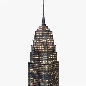 skyscraper office building 3D