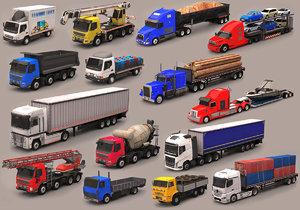 truck pack 3D