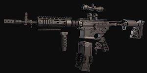 ar 15 kit 3D model